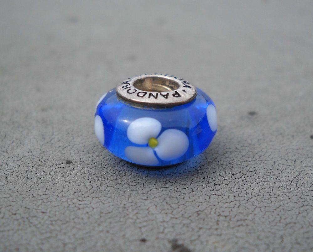 Authentic pandora blue flowers charm 790609 35msrp pandora authentic pandora blue flowers charm 790609 35msrp pandora izmirmasajfo