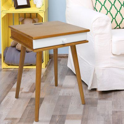 George Oliver Gannon 1 Drawer Nightstand in 2018 Products