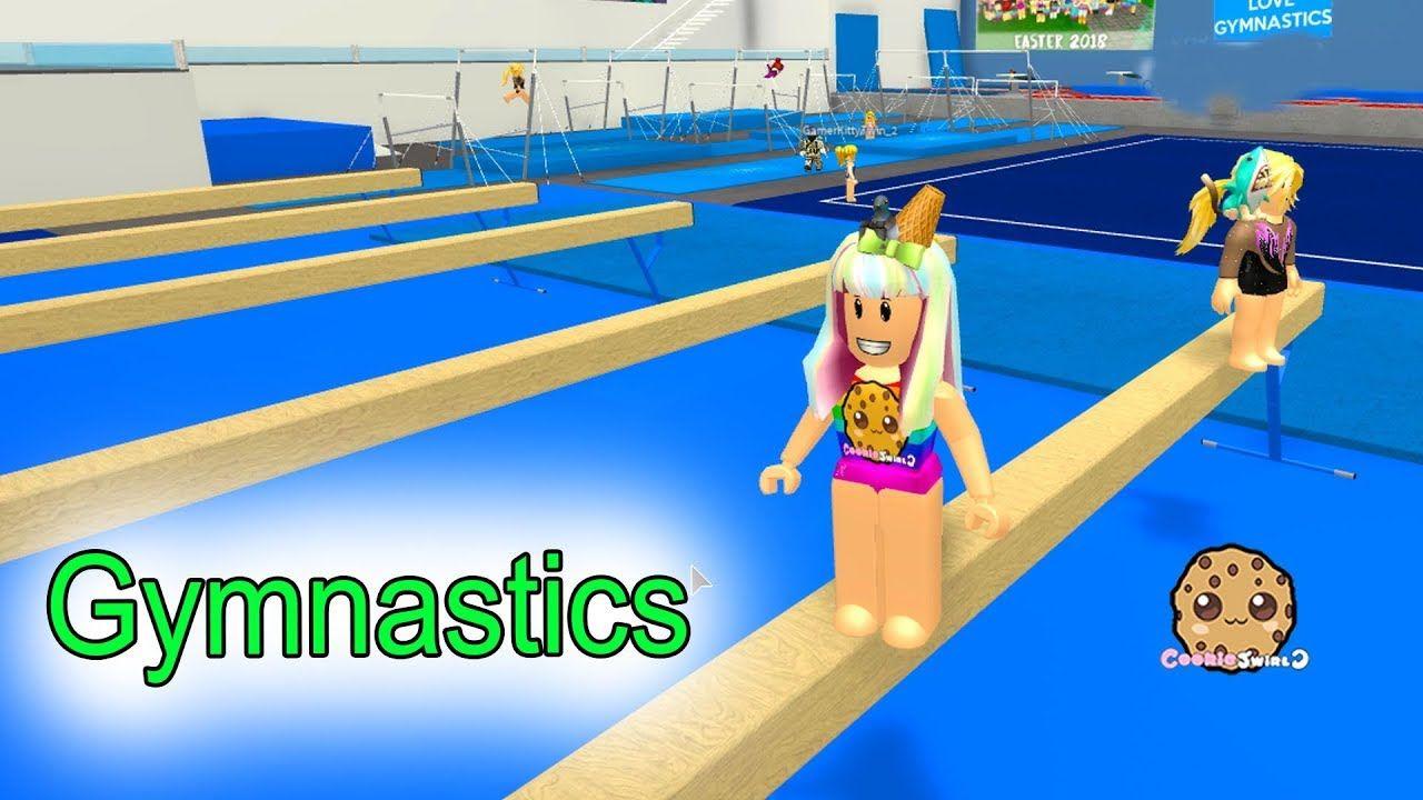 Roblox Gymnastics Game - Gymnastics Rollerskating Lets Play Roblox Fun Video