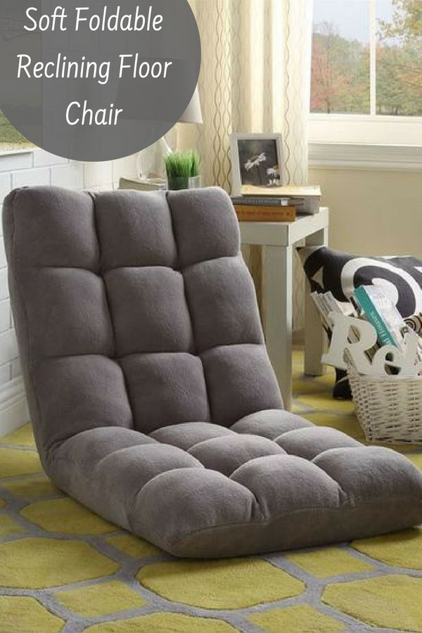 Soft Foldable Reclining Floor Chair Game Room Chairs Chair Comfy Chairs