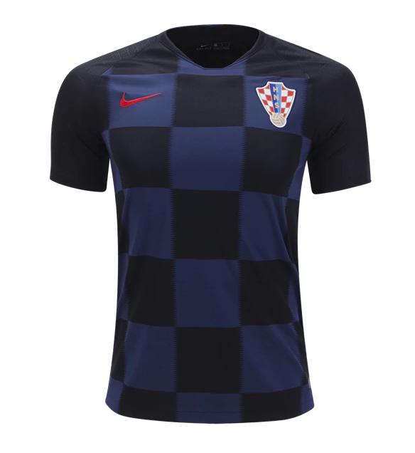 563f8b37a69 CAMISETA CROATIA 2ª EQUIPACIÓN 2018 croatia  football  shorts  shirts