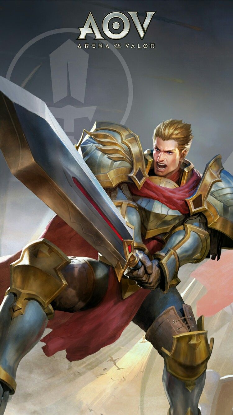 Arthur Arena Of Valor Wallpaper Pinterest Games Fantasy And Mobile Legends