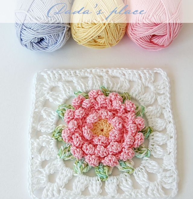 Lugar de Dada | tejidos varios | Pinterest | gehäkelte Blumen ...