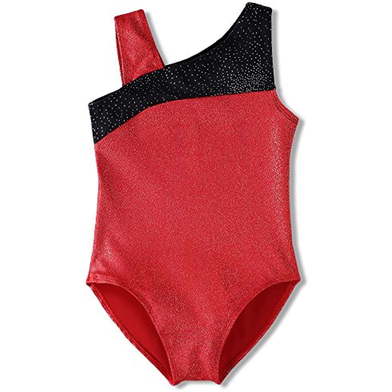c12f23aa8 Leotard for Girls Children Gymnastics Long Sleeve Dance Shiny Purple ...
