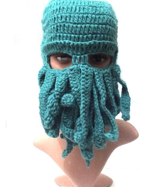 Tentacle Octopus Cthulhu Knit Beanie | Products | Pinterest