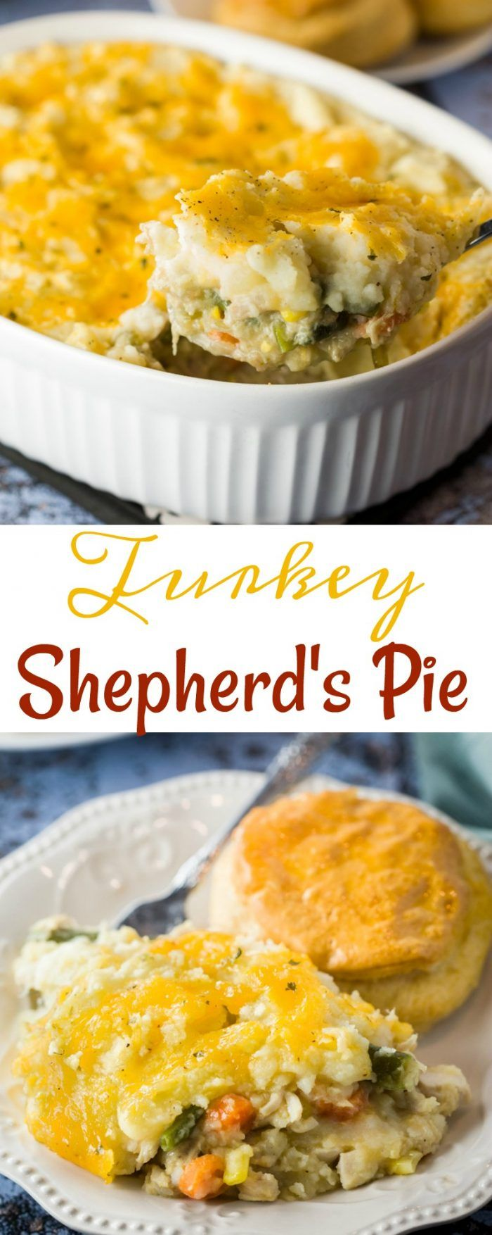 Turkey Shepherd's Pie #shepardspie