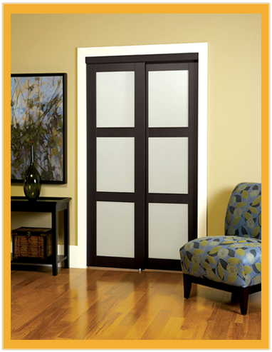 TRUporte Closet Doors...LOVE Them!