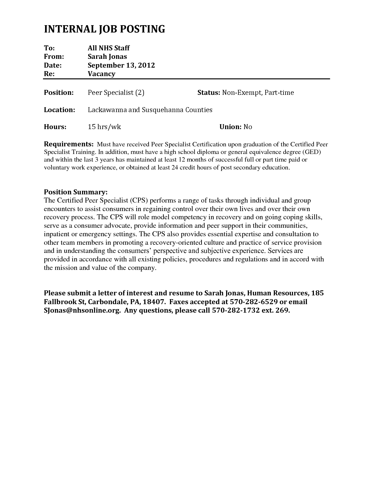 New What is A Letter Of Interest for A Job Job posting