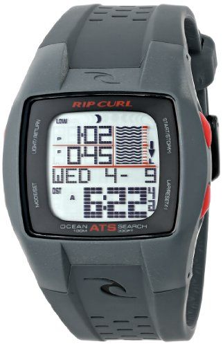 Rip Curl Mens A1015 Trestles Oceansearch Surf Watch With Grey Band Be Sure To Check Out This Awesome Product Note It Is Aff Surf Watch Rip Curl Cool Watches