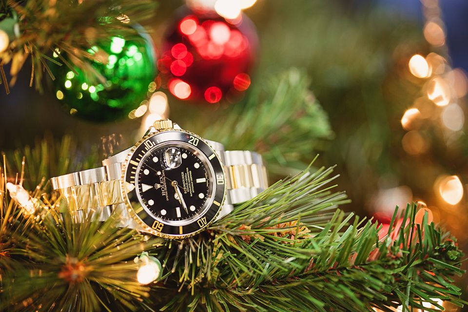 Rolex GMT Two Tone on Christmas Tree