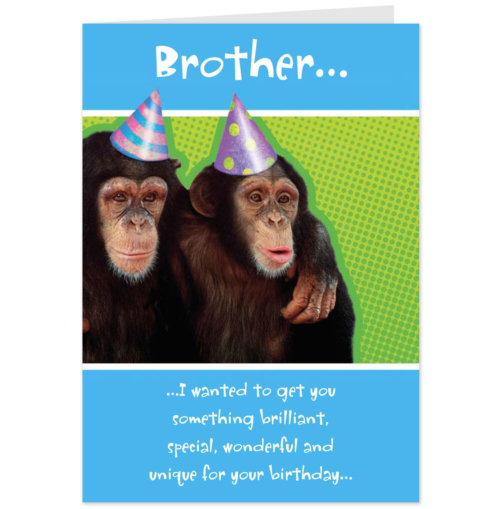 Chimp Doctor Monkey Cards – Funny Monkey Birthday Cards