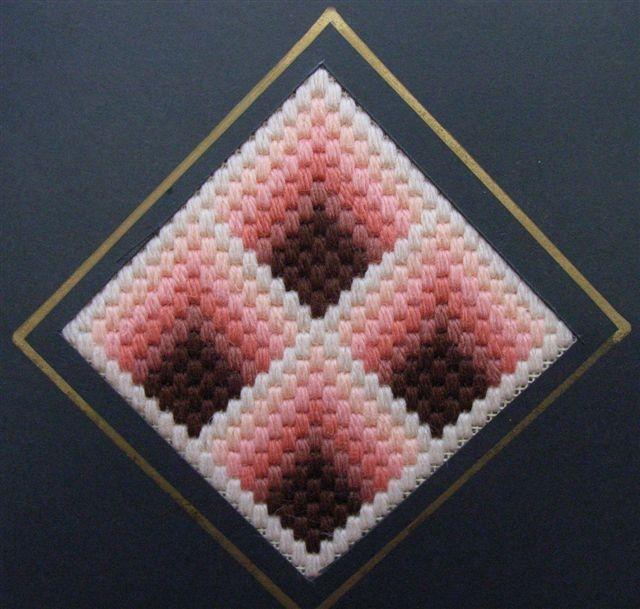 Bargello Needlepoint Geometric Shapes
