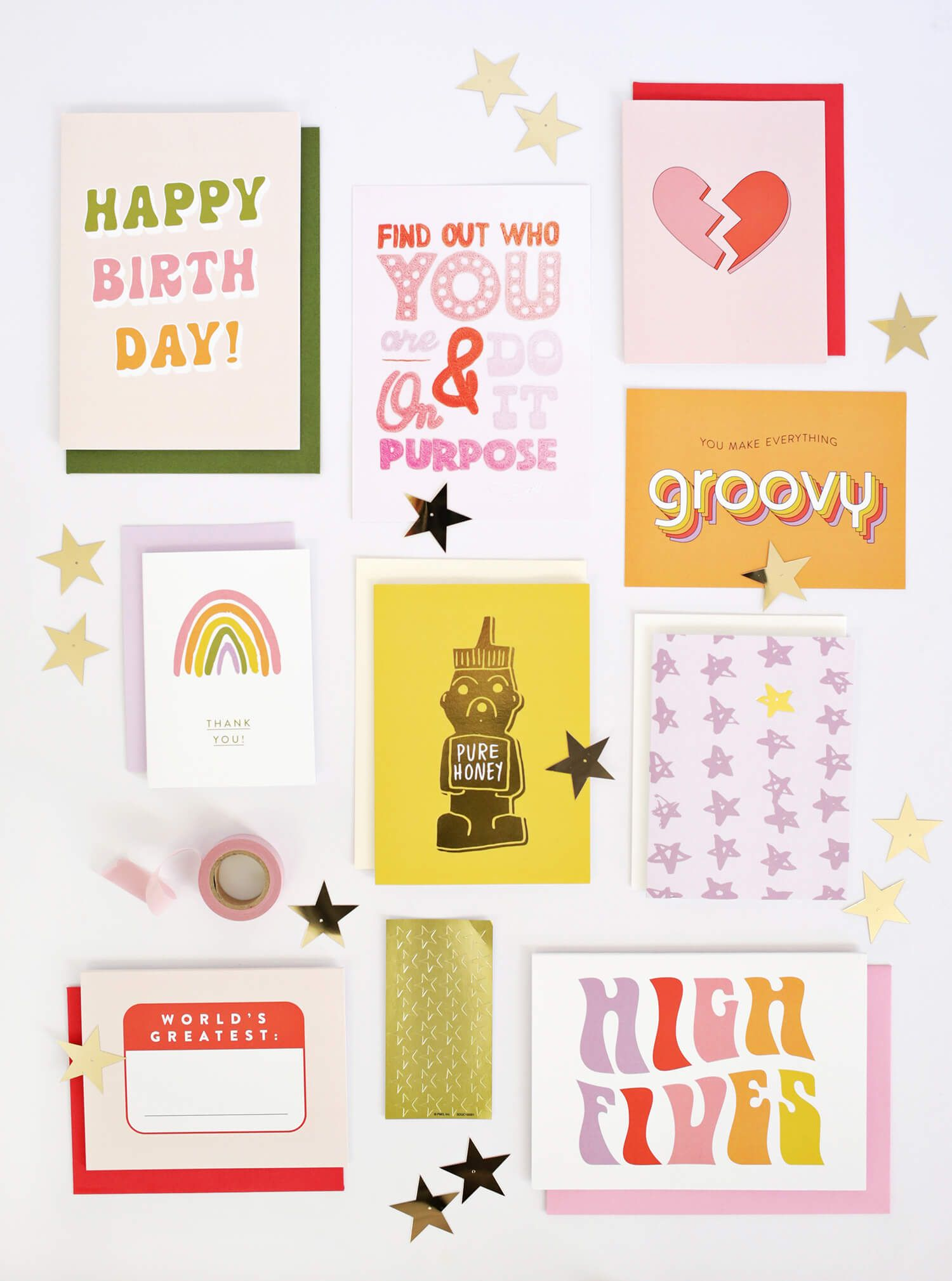 Happy Mail By Oui Fresh Greeting Cards Stationery Pinterest