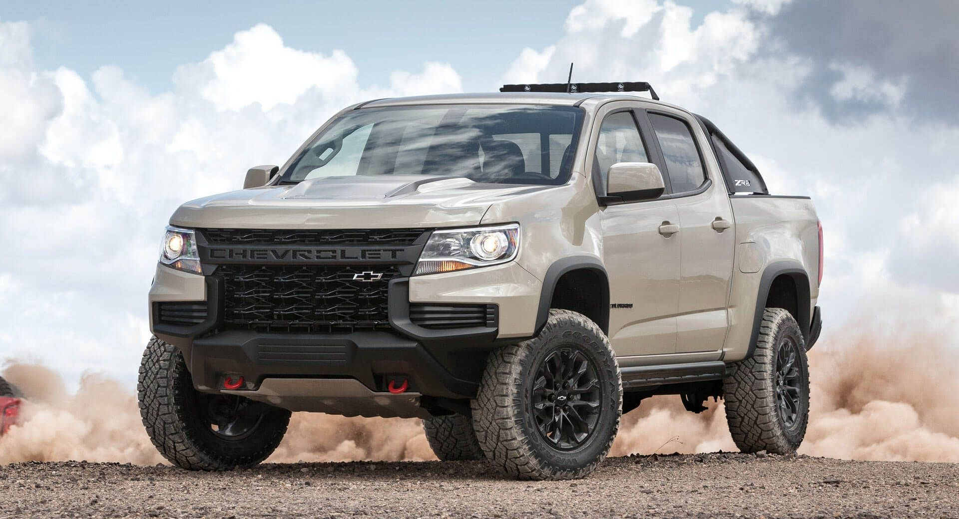 2021 Chevy Colorado Zr2 Breaks Cover Ahead Of Sema Debut With
