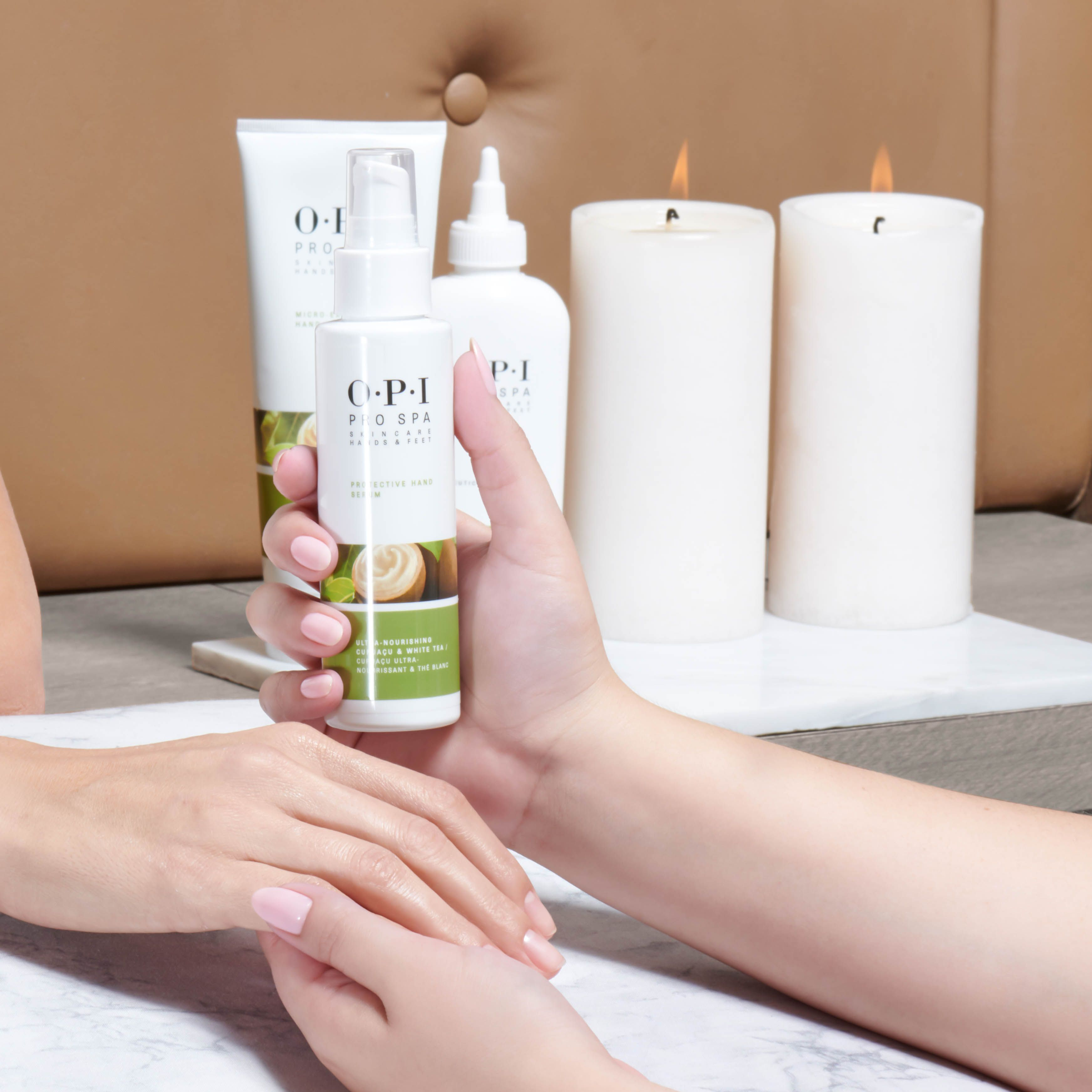 Enjoy The Opiprospa Protective Hand Serum During Every Manicure Service And Your Hands Will Be Sure To Than Long Lasting Nail Polish Spa Manicure Skin So Soft