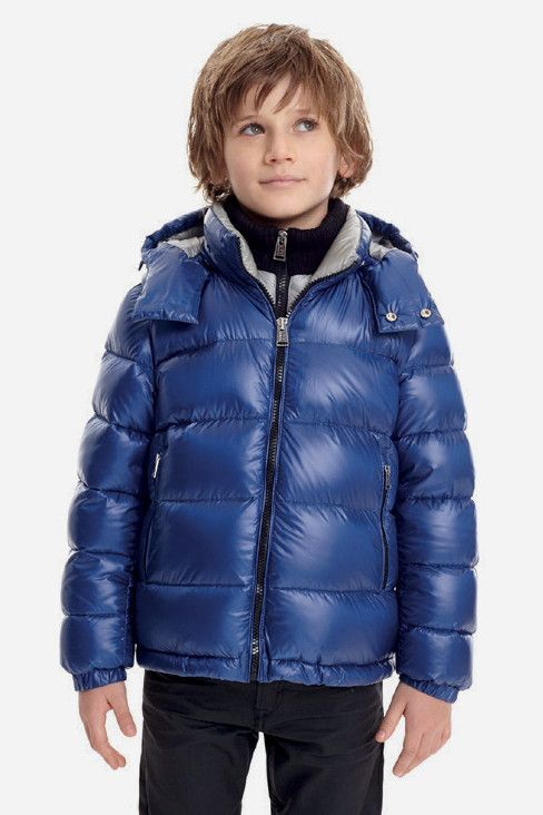80a8bc5b0 ADD Down has designed a boys jacket with a detachable hood and fixed ...