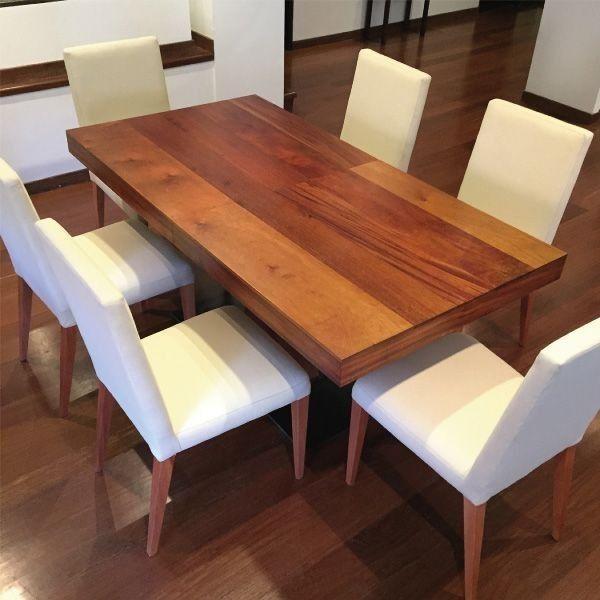 Comedor a la mesa comedores originales pinterest teak furniture room and dinning table - Mesas comedor originales ...