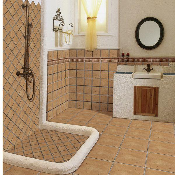 300x300mm Non Slip Rustic Ceramic Floor Tile For Bathroom On Http