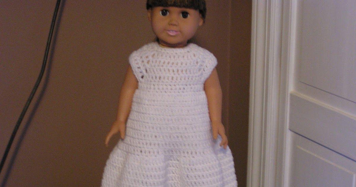Bella Bambina Knits: Wedding Dress for American Girl dolls | Crochet ...