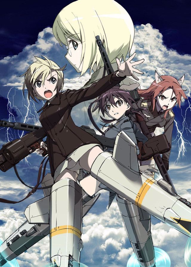 """Crunchyroll New """"Strike Witches Operation Victory Arrow"""