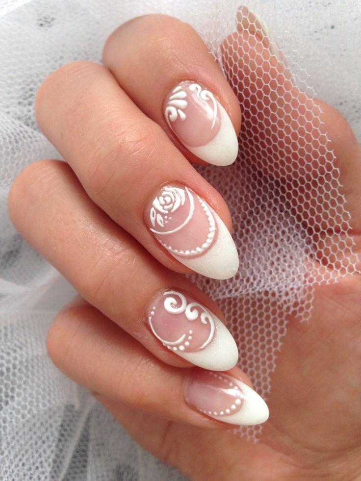 Akyado Nail Lounge Vevey Deko 3d Gel Dimensional Schone Nagel 3d Akyado Deko Gel Lounge Nage Nail Art Wedding Wedding Nail Art Design Gel Nails