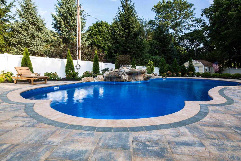 Metamorphosis Updated This Long Island Pool Patio With Cambridge - Long island pool and patio