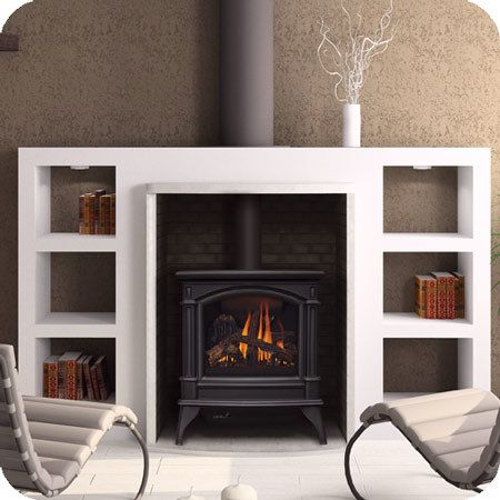 Fireplace Living Room And Interior Design Image This