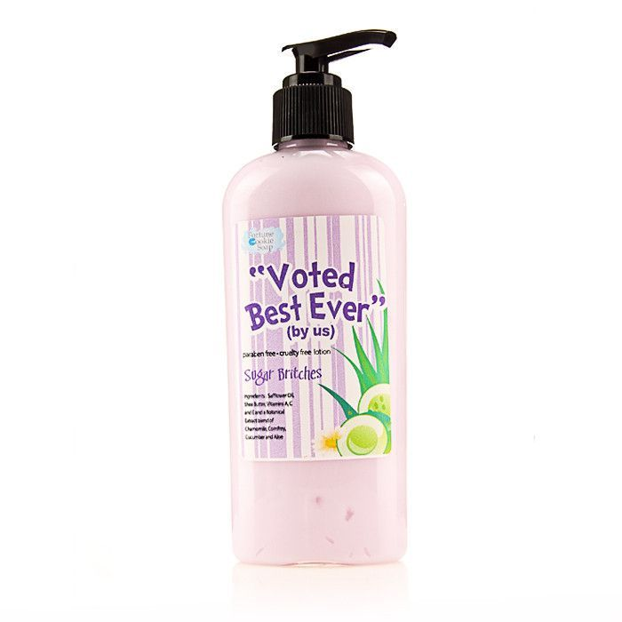Sugar Britches Voted best! (by us) Body Lotion
