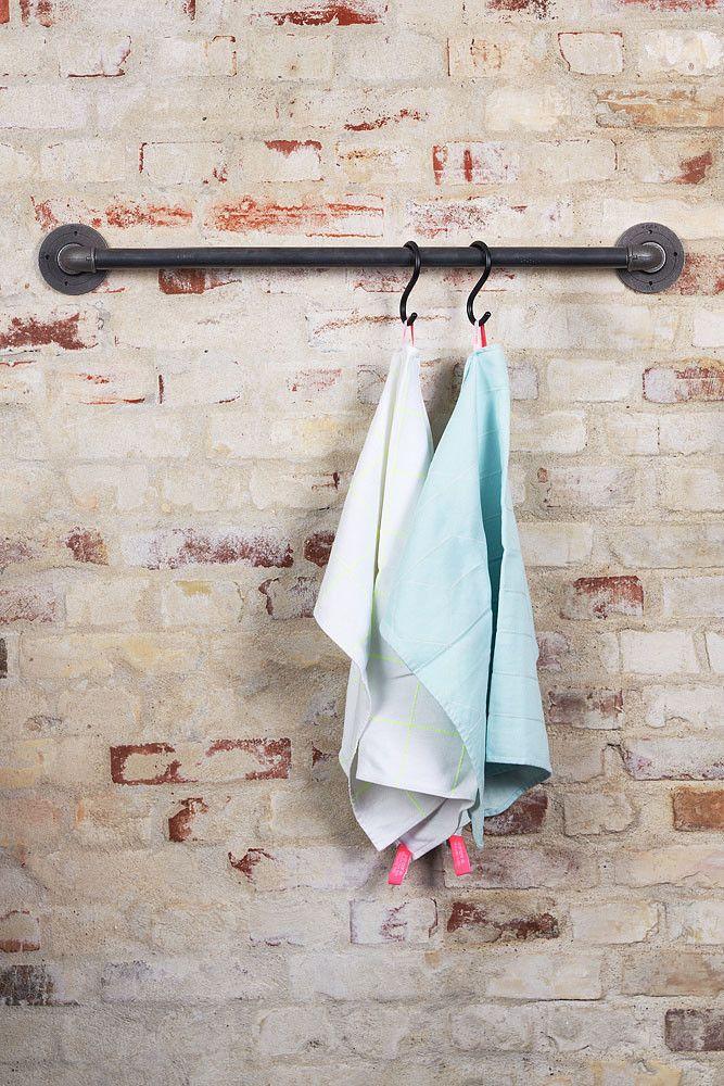 Kleider Aufhängen Stange stange zum aufhängen handtüchern mit haken nomess zu