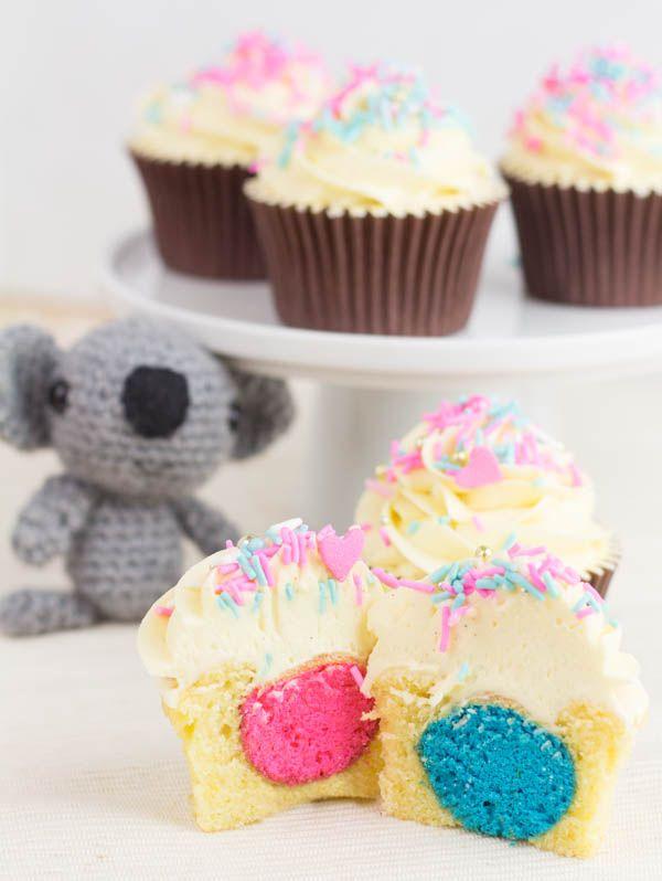 Cupcake Perfecto Será Niño O Niña Dilo Con Cupcakes Cupcakes Cupcakes Para Niños Cupcakes Cumpleaños Niña