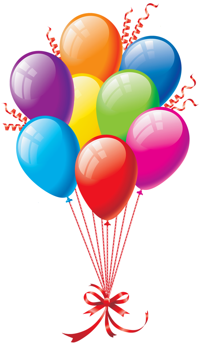 Birthday Balloons Clipart Free Happy