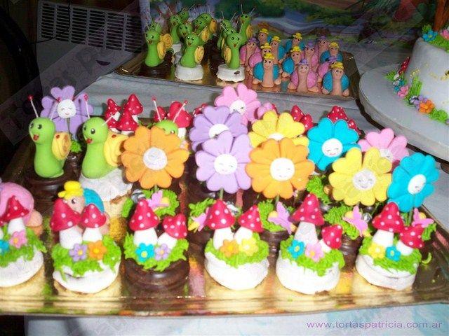 Mesas dulces infantiles tortas patricia cumple pauli - Mesa dulce infantil ...