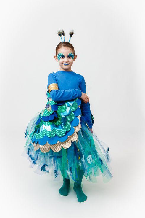 Hverdagsmaden 2013 Påfugl kostume | Børne Projekter i 2019 | Pinterest | Kostumer, Påfugl og ...