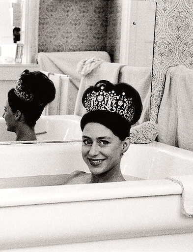 Image result for princess margaret in bath tub
