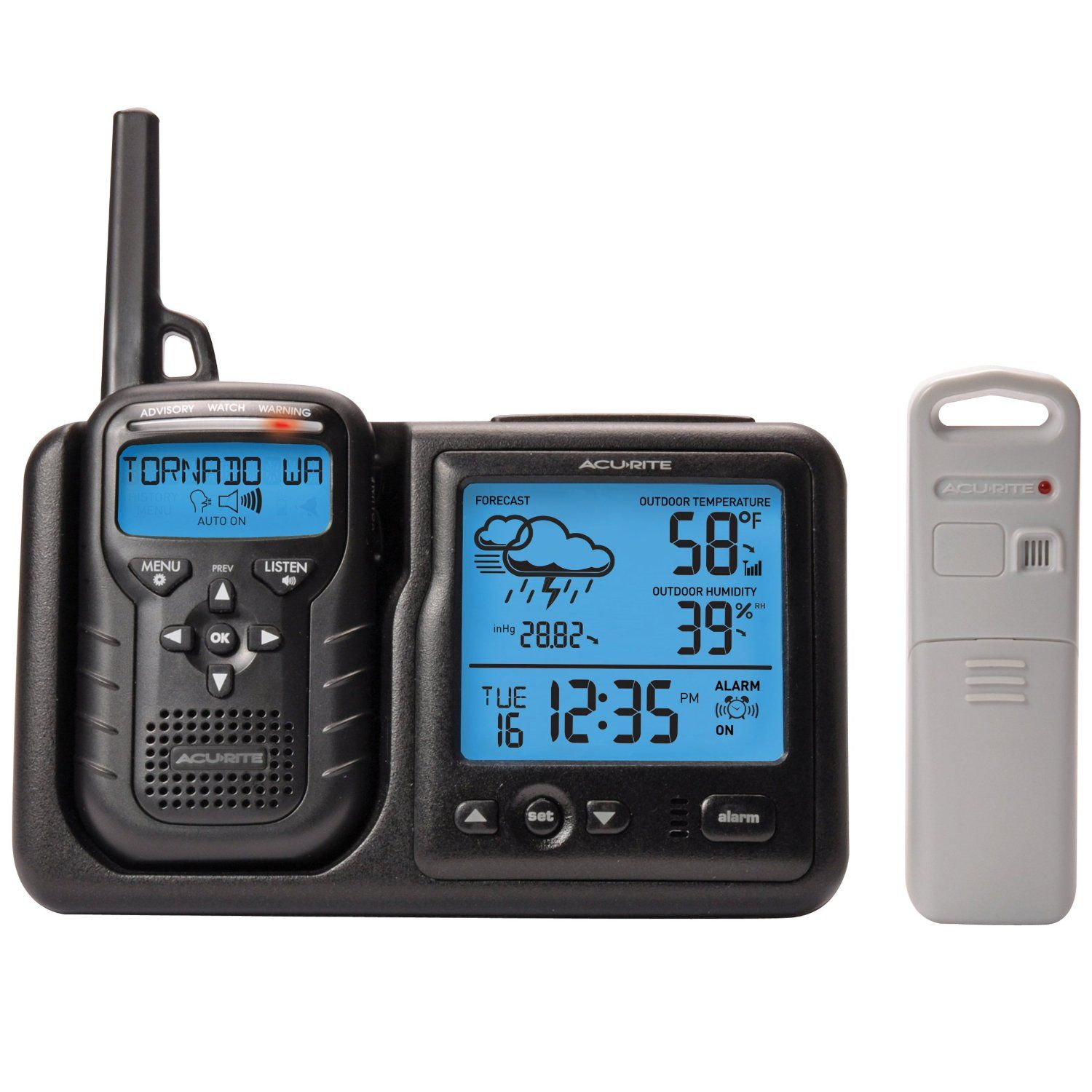 AcuRite Weather Station Plus Weather Alert Radio is a must have in