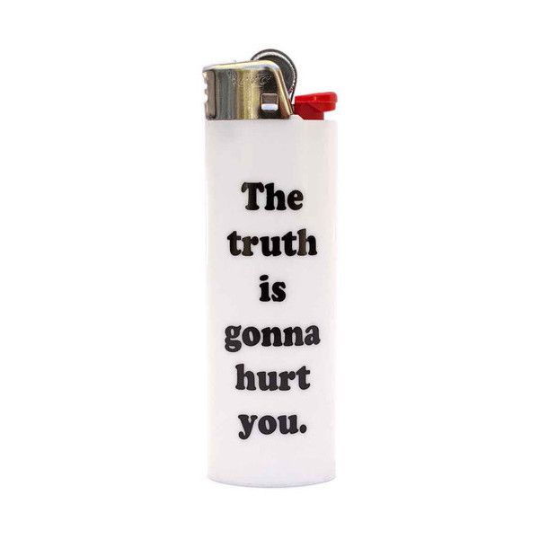 TRUTH LIGHTER (€4,70) ❤ liked on Polyvore featuring fillers, accessories, lighters, smoking, extra, backgrounds, text, quotes, saying and phrase