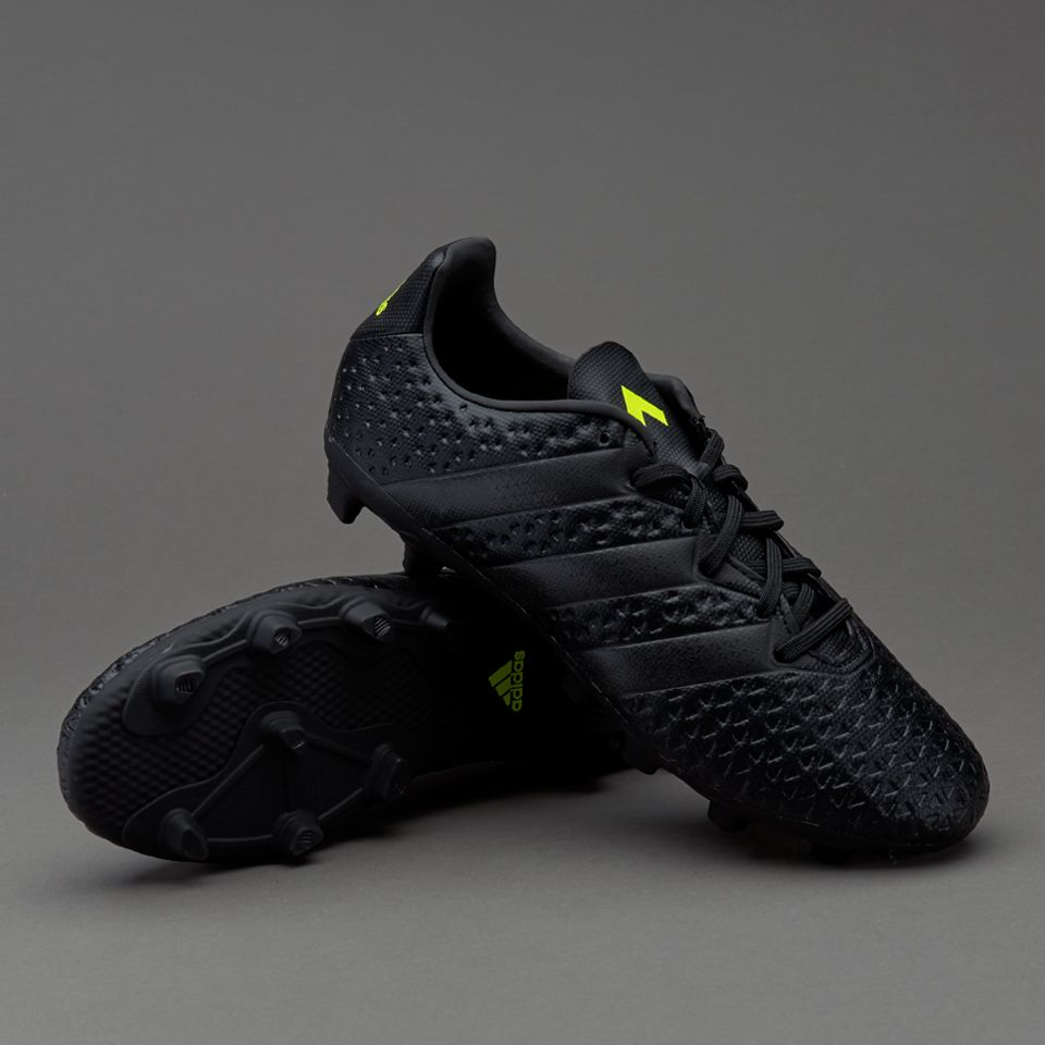 adidas ace 16.4 fxg core black solar yellow