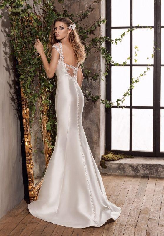 купить белое платье для свадьбы недорого