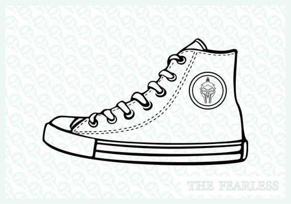 Converse Shoe Clipart Vector File Scarpa Converse Disegno Formati Jpg Png Cdr Pdf Eps Dxf Vettoriali Chuck Taylor Shoes Shoes Clipart Sneakers Sketch