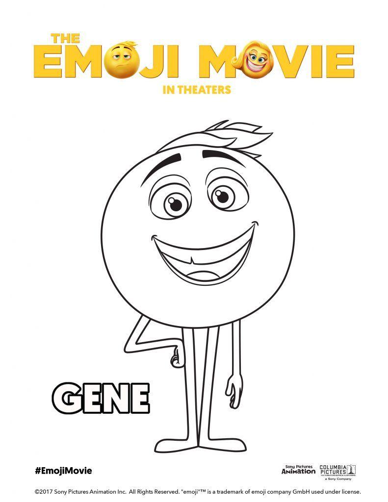 The EMOJI Movie Printable Activity Sheets - #EmojiMovie ...