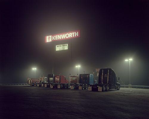 Kenworth Truck Stop With Images Kenworth Kenworth Trucks
