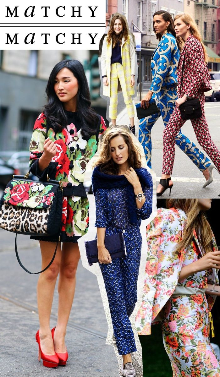 To acquire Trend spring matching prints picture trends
