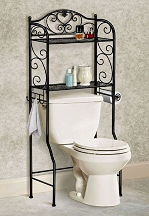 Bathroom Storage Organizer Over Toilet Bath Space Saver 2 Tier