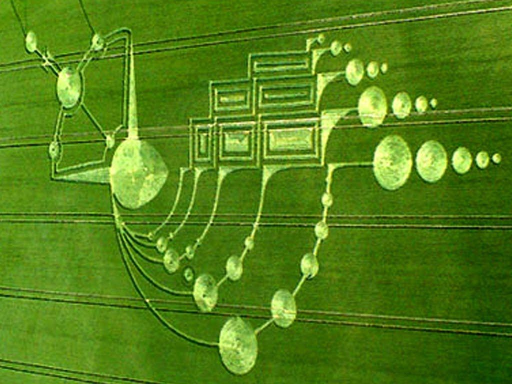 CROP CIRCLES 2015: Quest for Truth - New UFO Sightings Documentary HD