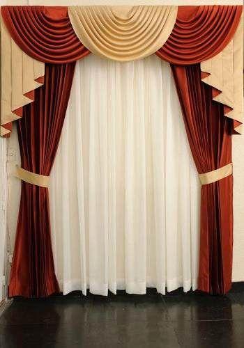 Cenefas Buscar Con Google Elegant Draperies Curtain Designs Drapery Designs