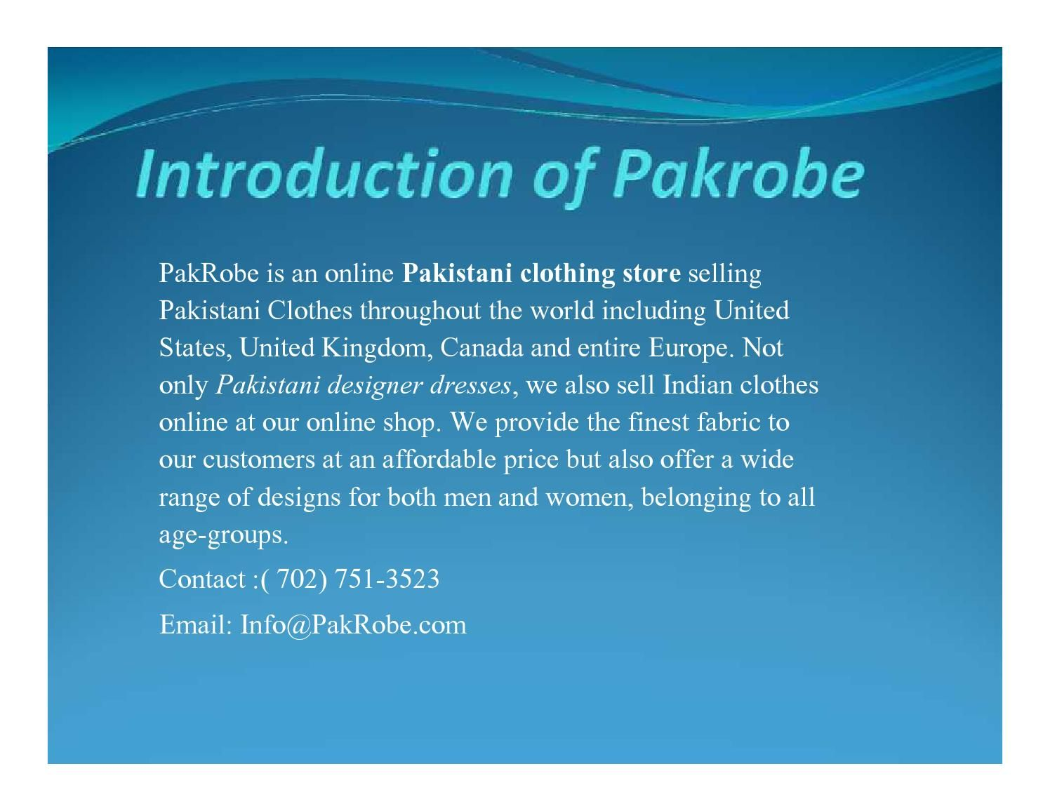 Buy Pakistani Wedding, Mehndi & Reception Dresses online at Pak Robe. Checkout our complete range of Bridal Dresses with Amazing Discounts & Free Shipping Offers. Contact :( 702) 751-3523    Email: Info@PakRobe.com
