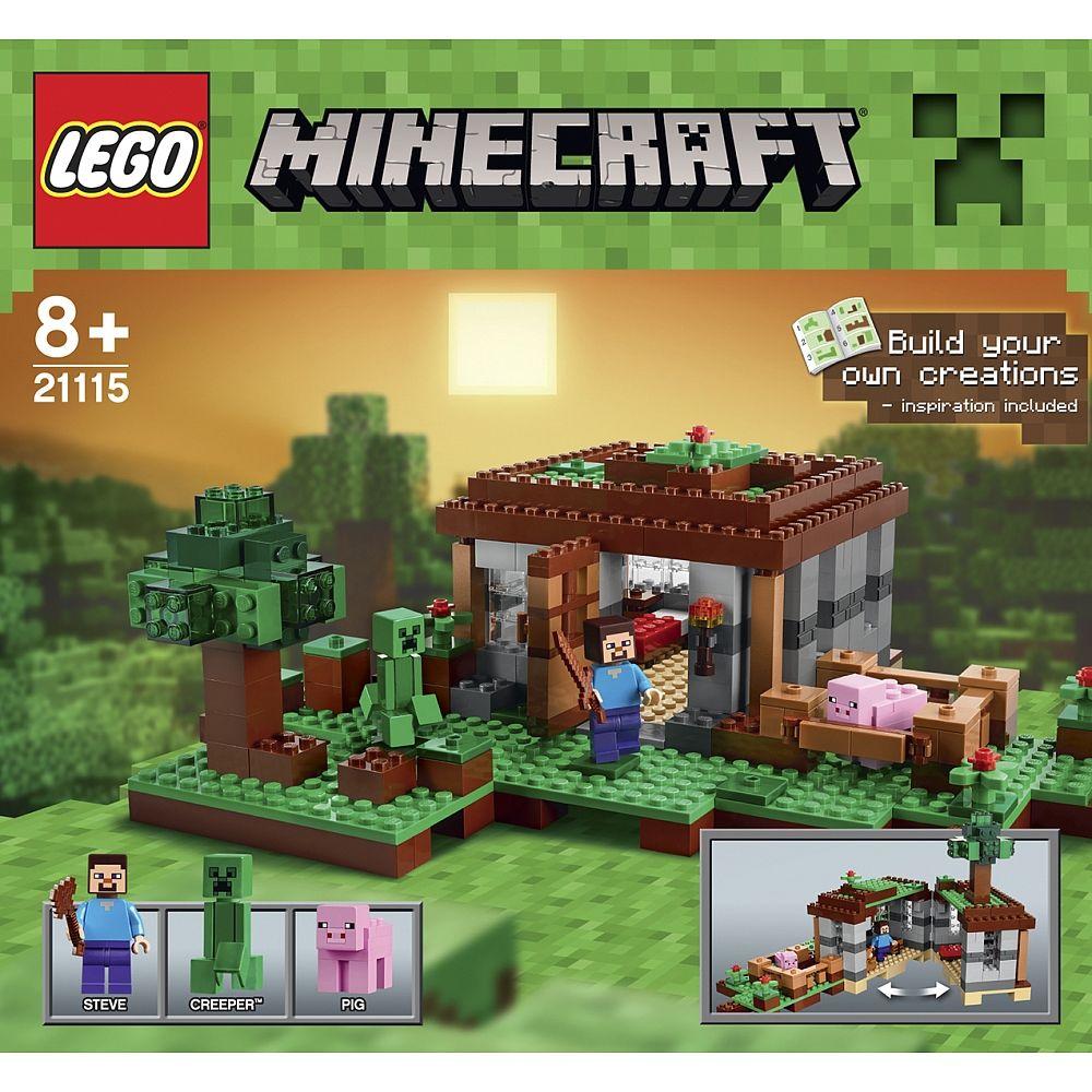 LEGO Minecraft - 21115 Steve\'s Haus   sachen wo ich nicht weiß was ...