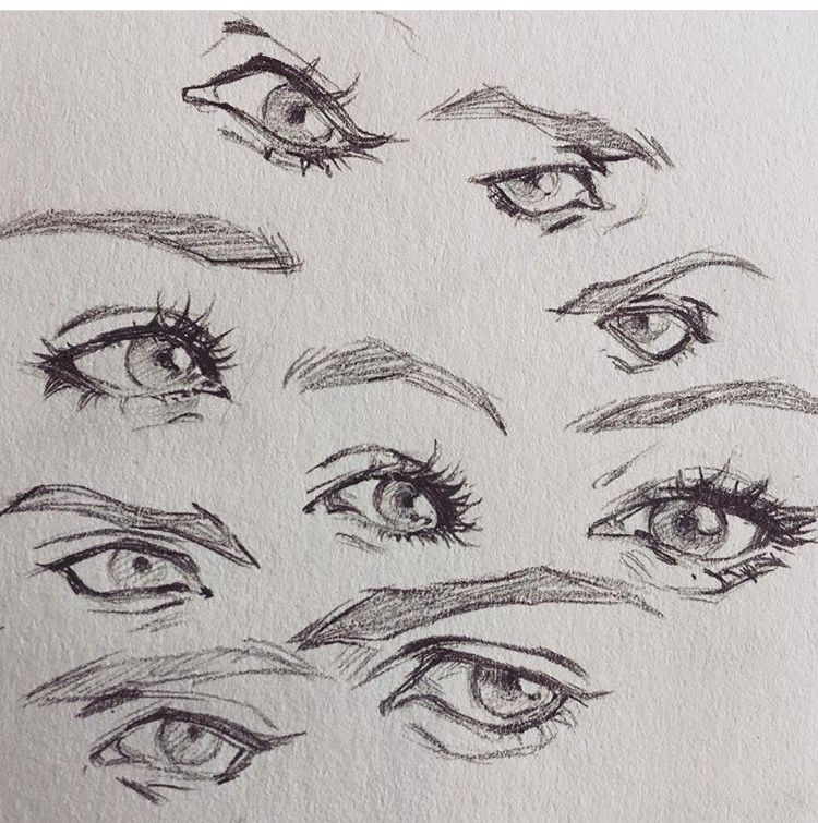 Pin By Elisse Carias On Phac Thảo In 2020 Eye Drawing Art Reference Poses Art Reference Photos