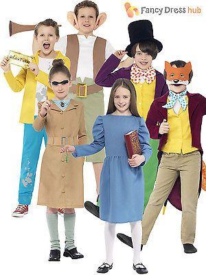 Elegant Kids #roald Dahl Book Week Character Childrens Boys #girls Fancy Dress Up  #costum, View More On The LINK:  Http://www.zeppy.io/product/gb/2/181657805892/