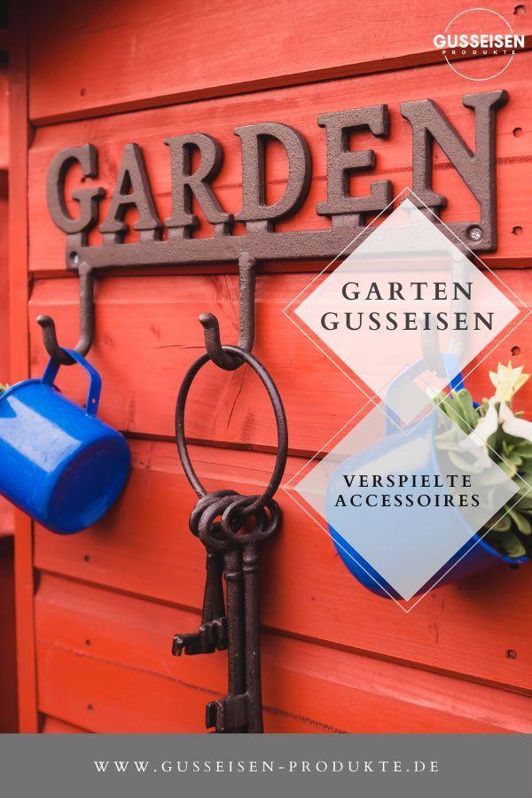 Dekorationsideen Gusseisen In 2020 Dekorationsideen Rustikale Gartendekoration Dekoration
